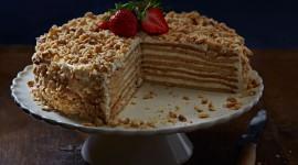 Honey Cake Desktop Wallpaper Free