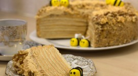 Honey Cake Wallpaper HQ