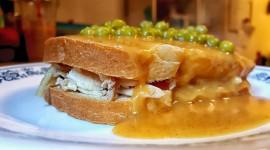 Hot Sandwiches Desktop Wallpaper