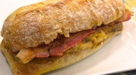 Hot Sandwiches Wallpaper Background