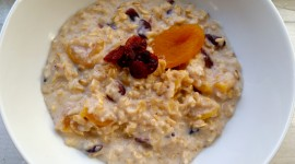 Oatmeal With Dried Fruits Desktop Wallpaper For PC