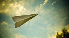 Paper Airplanes Wallpaper For Desktop