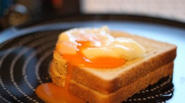Poached Egg High Quality Wallpaper