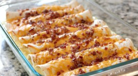 Sausages With Bacon And Cheese Wallpaper 1080p