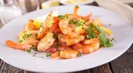 Spicy Shrimps High Quality Wallpaper
