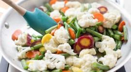 Steamed Vegetables Desktop Wallpaper