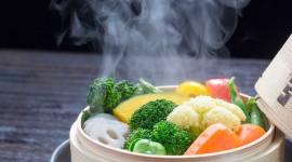 Steamed Vegetables Desktop Wallpaper HD