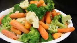 Steamed Vegetables Wallpaper