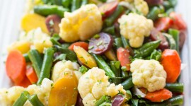 Steamed Vegetables Wallpaper For IPhone 6