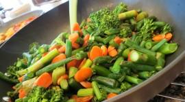 Steamed Vegetables Wallpaper Full HD