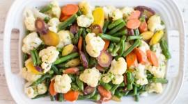 Steamed Vegetables Wallpaper HD