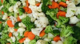 Steamed Vegetables Wallpaper HQ