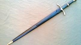 Steel Sword Desktop Wallpaper