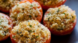 Stuffed Tomatoes Wallpaper For IPhone Free