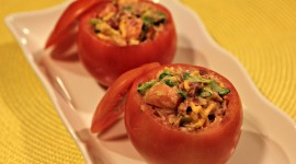 Stuffed Tomatoes Wallpaper For PC