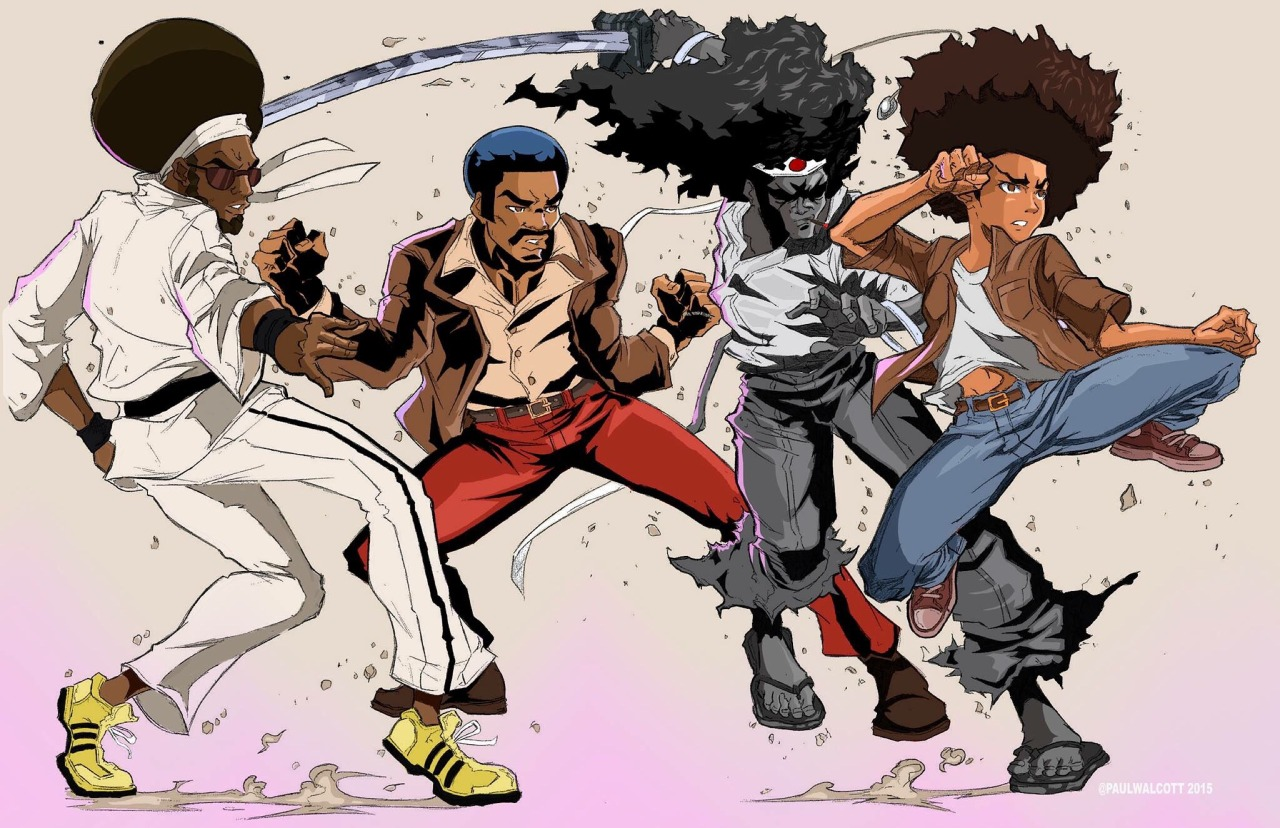 The Boondocks Wallpapers High Quality Download Free