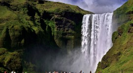 Waterfalls Iceland Best Wallpaper
