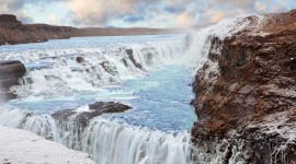 Waterfalls Iceland Wallpaper 1080p