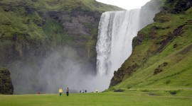 Waterfalls Iceland Wallpaper For PC