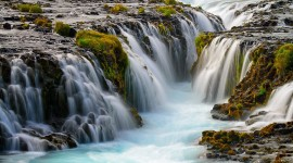 Waterfalls Iceland Wallpaper High Definition