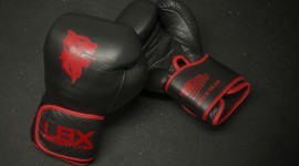 4K Boxing Glove Desktop Wallpaper HD