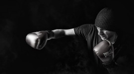 4K Boxing Glove Photo