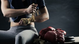 4K Boxing Glove Wallpaper Download