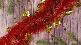 4K Christmas Tinsel Wallpaper For Android
