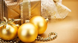4K New Year Gifts Wallpaper For Desktop