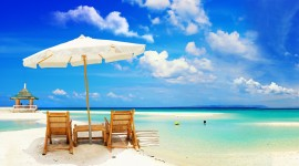 Beach Holiday Wallpaper Free