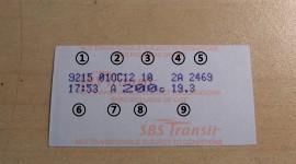 Bus Ticket Desktop Wallpaper For PC
