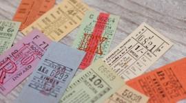 Bus Ticket Wallpaper Full HD