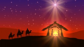 Catholic Christmas High Quality Wallpaper