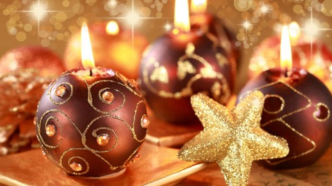 Christmas Candles wallpapers high quality