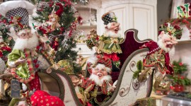 Christmas Decoration At Home Wallpaper Download Free