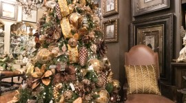Christmas Decoration At Home Wallpaper For IPhone 7