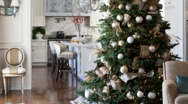 Christmas Decoration At Home Wallpaper For IPhone Free