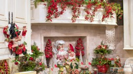 Christmas Decoration At Home Wallpaper For Mobile