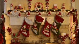 Christmas Decoration At Home Wallpaper For PC