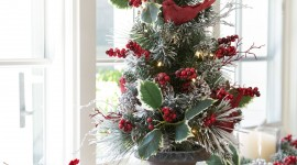 Christmas Decoration At Home Wallpaper For The Smartphone