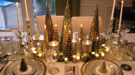 Christmas Decoration At Home Wallpaper Free