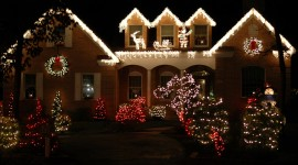 Christmas Decoration At Home Wallpaper Gallery
