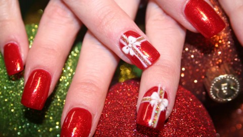 Christmas Nails wallpapers high quality