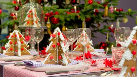 Christmas Table Decoration wallpapers high quality