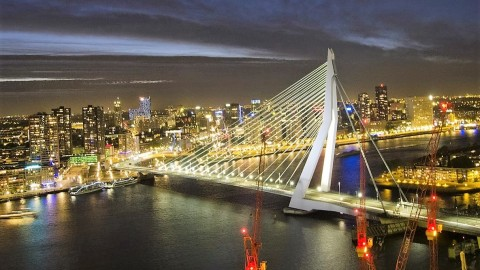 Erasmus Bridge wallpapers high quality