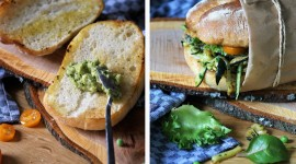 Green Sandwich Best Wallpaper