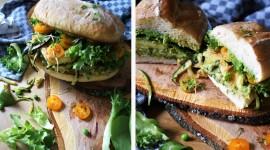 Green Sandwich High Quality Wallpaper
