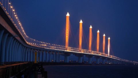 Hangzhou Bridge wallpapers high quality