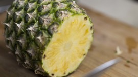 How To Cut A Pineapple High Quality Wallpaper