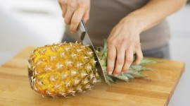 How To Cut A Pineapple Wallpaper Full HD